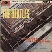 The Beatles Please Please Me - 1st - Good UK vinyl LP