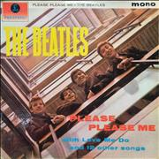 The Beatles Please Please Me - 1st - VG- UK vinyl LP