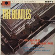 The Beatles Please Please Me - 2nd UK vinyl LP