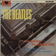 The Beatles Please Please Me - 3rd - VG UK vinyl LP