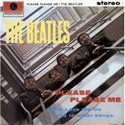 The Beatles Please Please Me - 2 Box - EMI UK vinyl LP