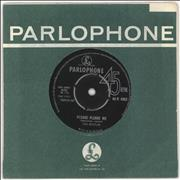 "The Beatles Please Please Me - 2nd - VG UK 7"" vinyl"