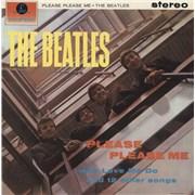 The Beatles Please Please Me - 4th - EX UK vinyl LP
