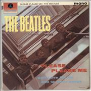The Beatles Please Please Me - 5th - WOC UK vinyl LP