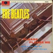 The Beatles Please Please Me - 6th - EX UK vinyl LP