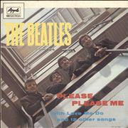The Beatles Please Please Me - Apple/EMI Electrola Germany vinyl LP