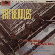 The Beatles Please Please Me - One Box Mono UK vinyl LP