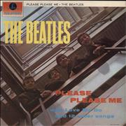 The Beatles Please Please Me - One Box Stereo UK vinyl LP
