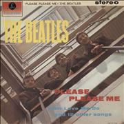 The Beatles Please Please Me - Pathé UK vinyl LP