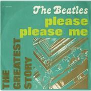 "The Beatles Please Please Me Italy 7"" vinyl"