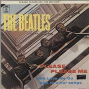 The Beatles Please Please Me Brazil vinyl LP