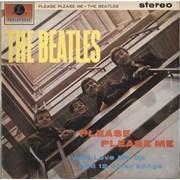 The Beatles Please Please Me Portugal vinyl LP