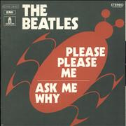 "The Beatles Please Please Me France 7"" vinyl"