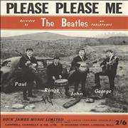 The Beatles Please Please Me UK sheet music Promo