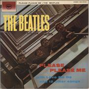 The Beatles Please Please Me Japan vinyl LP