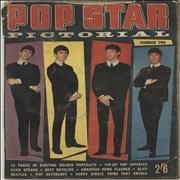 The Beatles Pop Star Pictorial Magazine No 2 UK magazine