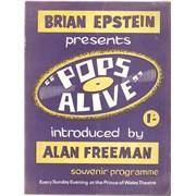 The Beatles Pops Alive UK tour programme
