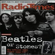 Click here for more info about 'The Beatles - Radio Times - 23-29 August 2009 - Two Issues'