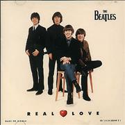 The Beatles Real Love USA CD single
