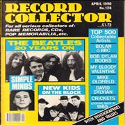 The Beatles Record Collector - April 1990 UK magazine
