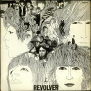 The Beatles Revolver - 2nd - VG UK vinyl LP