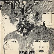 The Beatles Revolver - 3rd - EX UK vinyl LP