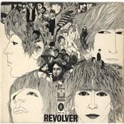 The Beatles Revolver - Blue Label - VG Germany vinyl LP