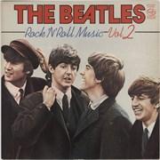 The Beatles Rock N Roll Music Volume 2 UK vinyl LP