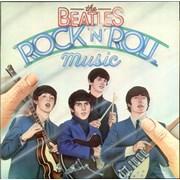 The Beatles Rock 'N' Roll Music UK 2-LP vinyl set