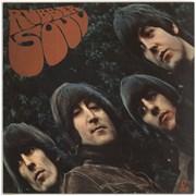 The Beatles Rubber Soul - 2 Box - EMI - Sample UK vinyl LP