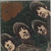 The Beatles Rubber Soul Brazil vinyl LP