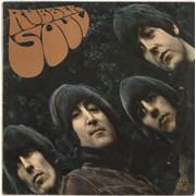 The Beatles Rubber Soul Rhodesia vinyl LP