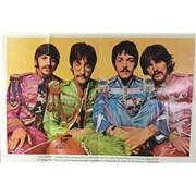 The Beatles Sgt. Pepper Souvenir Fan Club Poster UK poster