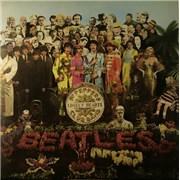 The Beatles Sgt. Pepper's - 1/2 Box UK vinyl LP