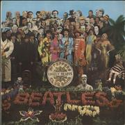 The Beatles Sgt. Pepper's - 1st - EX UK vinyl LP