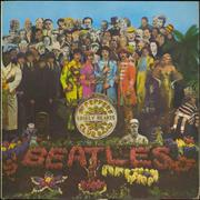 The Beatles Sgt. Pepper's - 1st - VG UK vinyl LP