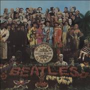 The Beatles Sgt. Pepper's - 1st - Complete - VG UK vinyl LP