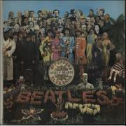 The Beatles Sgt. Pepper's - 1st + Flame Inner - VG UK vinyl LP