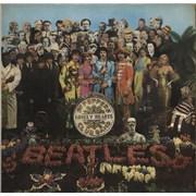 The Beatles Sgt. Pepper's - 1st - VG UK vinyl LP