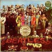 The Beatles Sgt. Pepper's - 1st France vinyl LP