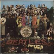 The Beatles Sgt. Pepper's - 3rd - EX - Mislabel UK vinyl LP
