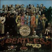 The Beatles Sgt. Pepper's - '4th Proof' UK vinyl LP
