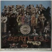 The Beatles Sgt Pepper's - Jewel Case - Mono UK Reel to Reel
