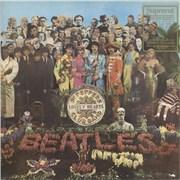 The Beatles Sgt. Pepper's - Nimbus UK vinyl LP