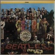 Click here for more info about 'The Beatles - Sgt. Pepper's - Rainbow Rim - NEMS - VG/EX'