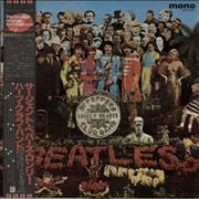 The Beatles Sgt. Pepper's - Red + 82 Obi Japan vinyl LP