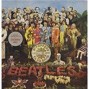 The Beatles Sgt. Pepper's - Single Sleeve - Red Vinyl Australia vinyl LP