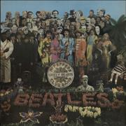 The Beatles Sgt. Pepper's - Wide Spine UK vinyl LP
