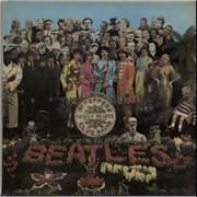 The Beatles Sgt. Pepper's - Wide Spine - Complete UK vinyl LP