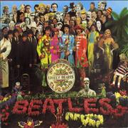 The Beatles Sgt. Pepper's Lonely Heart Club Band UK CD album